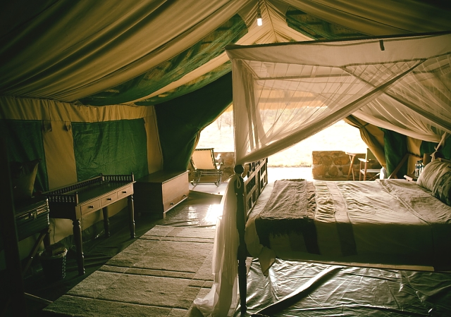 Bushman Camp Bed Tent