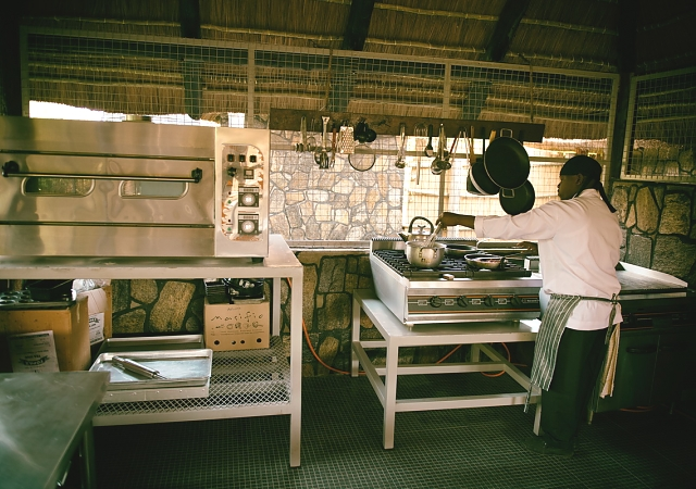 Bushman Camp Kitchen