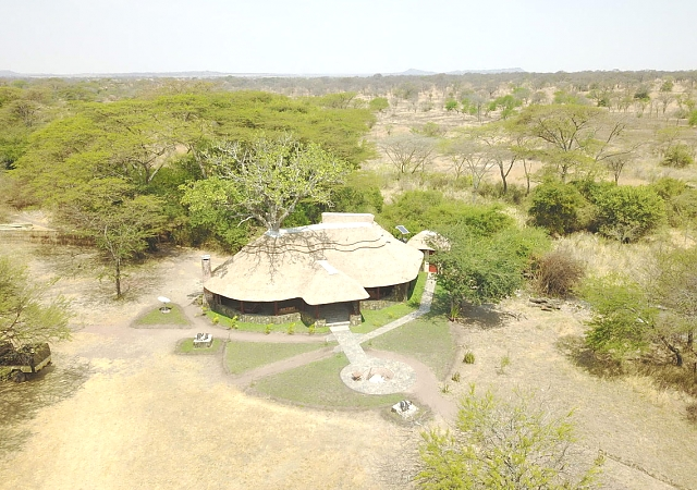 Bushman Maswa Camp Aerial View